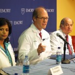 Emory doctors discuss H1N1 studies