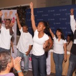 Students perform at the Start Strong event