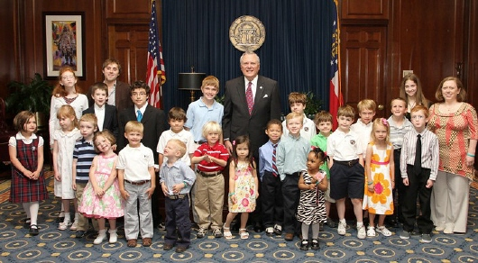 Dr. Demuth was a key player in advancing legislation to call attention to the challenges of food allergies in children. She and several of her patients were on hand to witness Governor Nathan Deal signing a proclamation declaring May 8 to 14 Food Allergy Awareness Week in Georgia.