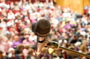 Public speaking raises the blood pressure -- it also drives progenitor cells out of the bone marrow