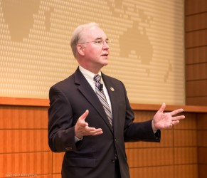 Rep. Tom Price discusses research funding